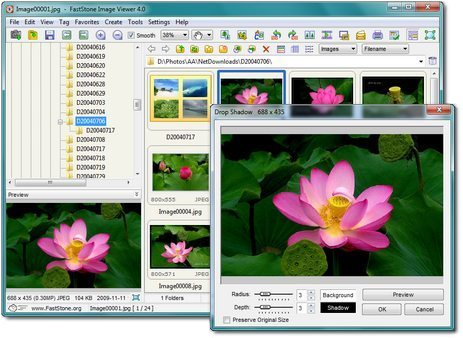 Windows 8 Faststone Image Viewer full