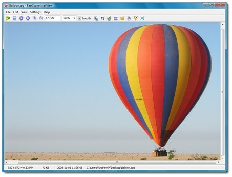 FastStone MaxView - Tiny and Very Fast Image Viewer
